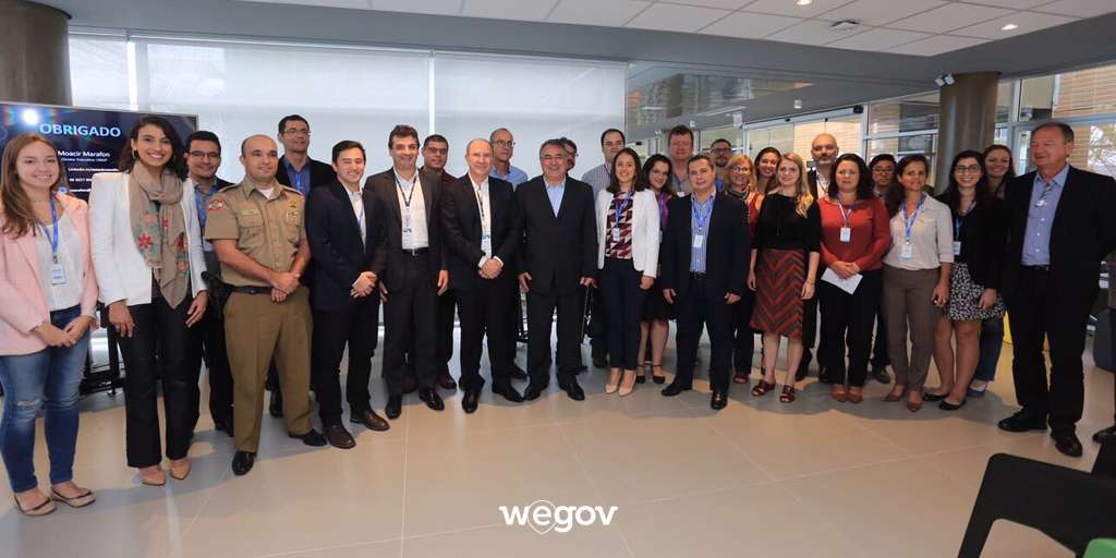 HubGov é apresentado ao Governador do Estado