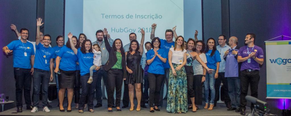 Lançamento do HubGov 2018